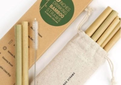 Bamboo drink straws