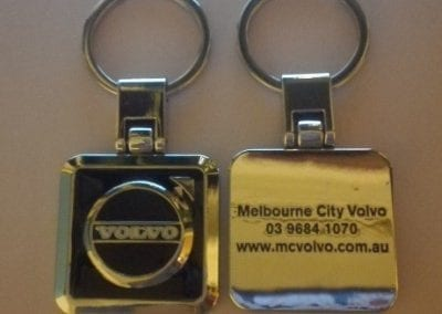 Melbourne City Volvo key ring - PP sample