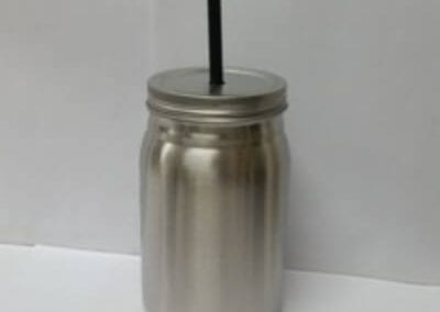 Stainless steel masin jar
