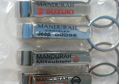 Telf - Mandurah (Suzuki, Jeep, Mitsubishi and Nissan) BO key rings