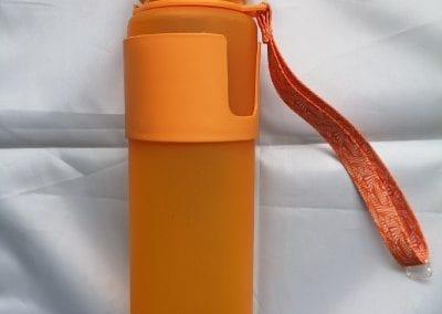 silicone foldable drink bottle