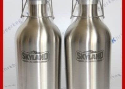 stainless steel 2L beer bottle (1)