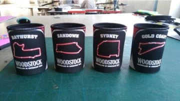 IPROMO - STUBBY HOLDER - BATHURST, SANDOWN, SYDNEY and GOLD COST - PPS
